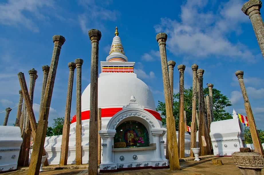 Thuparama القبة الأقدم