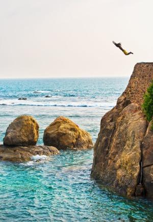 المنحدر الصخري الشهير بجال