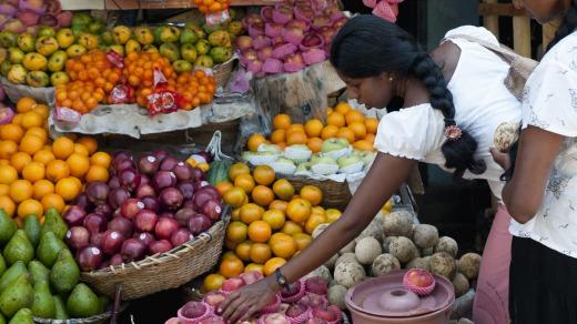 لمحة من السوق في جالي