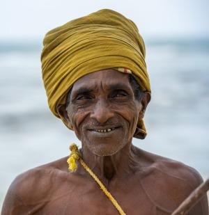 الزي التقليدي لصيادين سيريلانكا