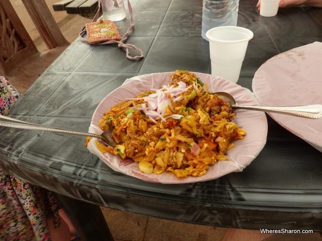 من الأطباق السيريلانكية