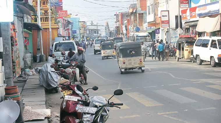 شوارع مدينة جفنا في سريلانكا